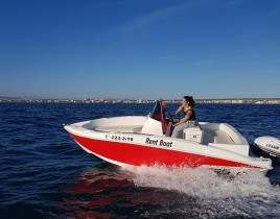 Alquiler Barco Sin Licencia en Alicante