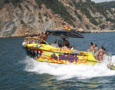 Despedidas de soltera en barco privado en Denia o Javea