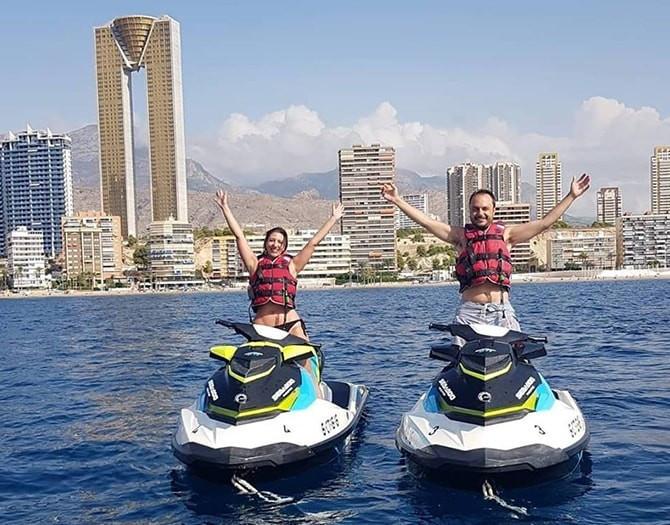 Motos de agua Benidorm Isla de Benidorm Isla Mitjana Sierra Helada