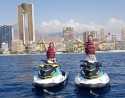 Ruta en motos de agua para 2 a Isla de Benidorm e Isla Mitjana