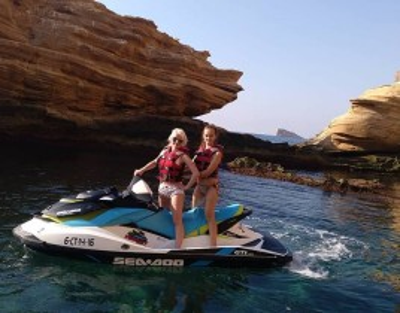 Ruta en Motos de Agua Cala Finestrat para 2 personas