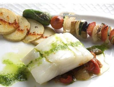 Menú cocina francesa en L'escut, Javea
