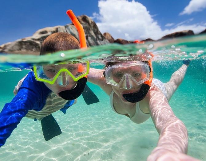 snorkel en benidorm