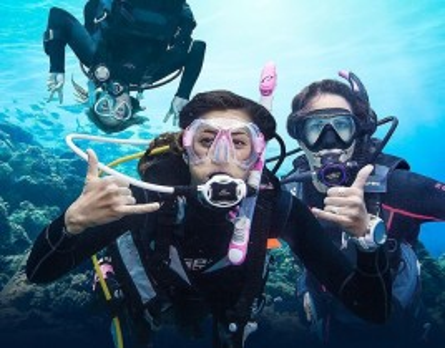 Bautismo de buceo para principiantes en Alicante con doble inmersión