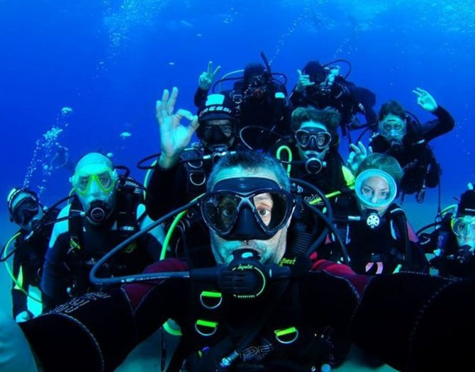 Inmersión de Buceo en Calpe