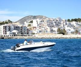 Alquiler de Barco Sin Licencia en Moraira (Alicante)