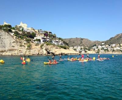 Alquiler de Kayak Moraira en el Port