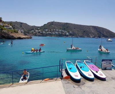 Alquiler de Paddle Surf Moraira en el Port