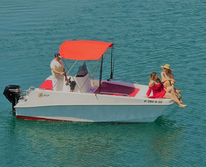 Alquiler barco sin titulacion en Valencia