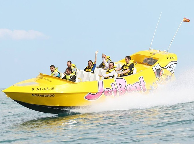 Jet boat Santa Pola