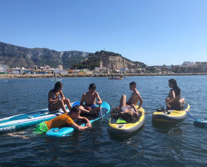 alquiler paddle surf denia