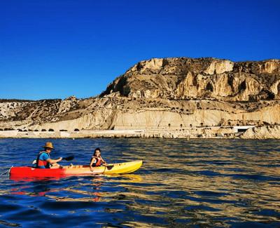 Alquiler de Kayak doble en Playa Muchavista, Alicante