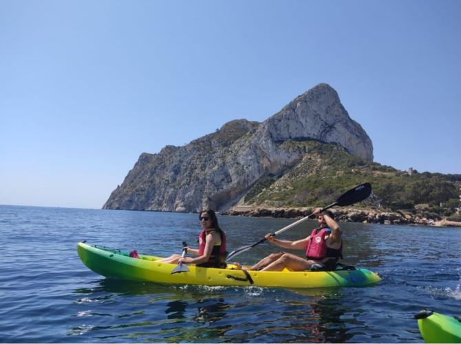 Alquiler de Kayak en Calpe