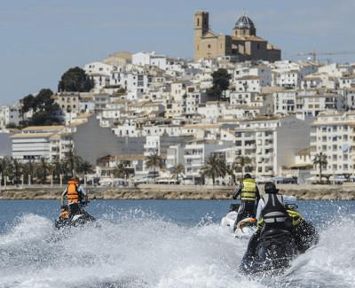 Excursión en Moto de Agua en Altea y Paddle Surf para 2 personas