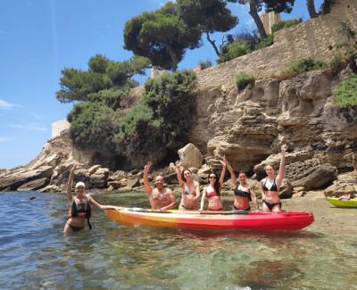 Excursión en Kayak Alicante al Cabo de las Huertas con Snorkel