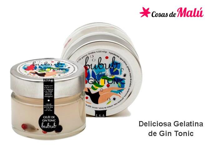 Gelatina de Gin Tonic. Cosas de malu denia