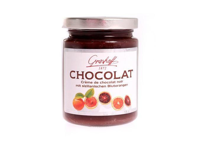 Crema de chocolate negro y naranja sanguina - Grashoff