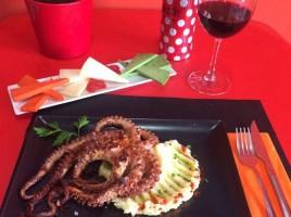 Menú Mediterráneo en Picaetes GastroBar, Dénia