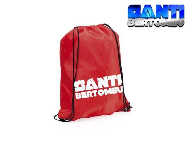 mochila santi bertomeu roja