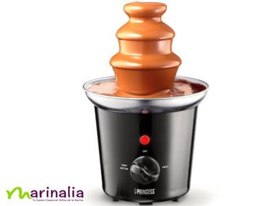 Fuente de chocolate fondue