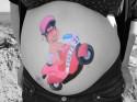Belly Painting para embarazadas en la Marina Alta