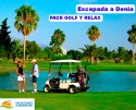 Escapada a Denia: 3 noches + 2 GreenFees + Spa + Comida, Cena y Cocktail