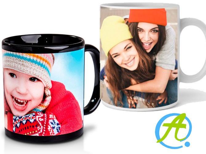 Taza personalizada con foto