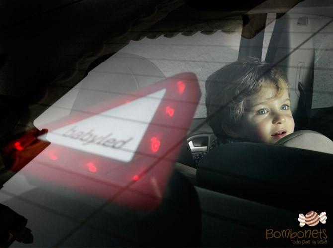 BabyLed. Triángulo luminoso led niños