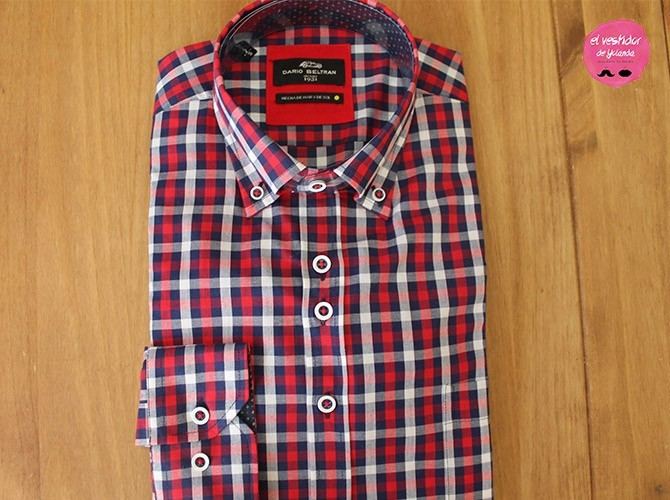 Camisa de cuadros Dario Beltrán