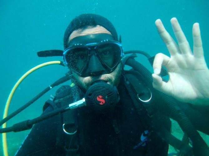 Inmersión de Buceo en Jávea