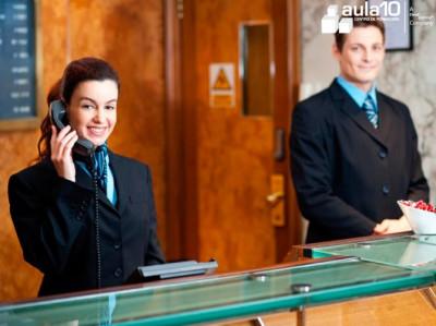 Curso de Recepcionista de Hotel + Inglés profesional para el Turismo