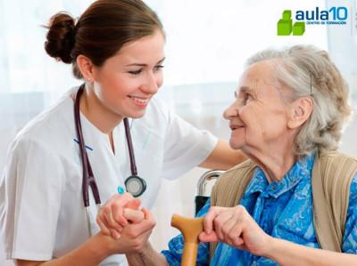 Curso Online Auxiliar de Enfermería en Geriatría