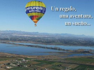 Vuelo en Globo en Elche (Alicante) + Reportaje fotográfico y Cava