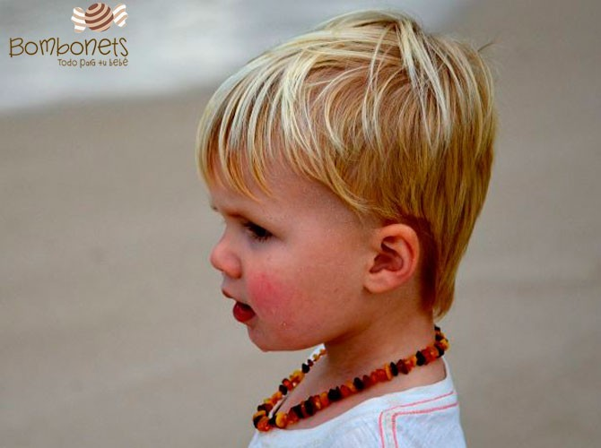 Collar de ámbar Báltico para bebés