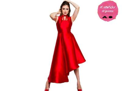 Vestido Rojo de Fiesta de la marca Cocoa