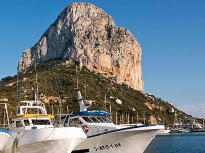 Excursión en Barco Privado al Peñon de Ifach desde Moraira