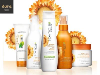 Cuida tu pelo en Verano con la gama Biolage de Dore en Denia