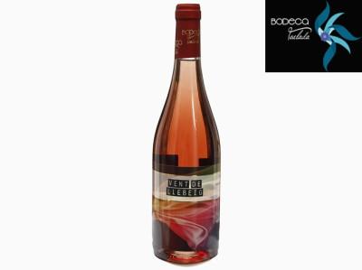 """6 Botellas Vino Rosado """"Vent de Llebeig"""" ."""