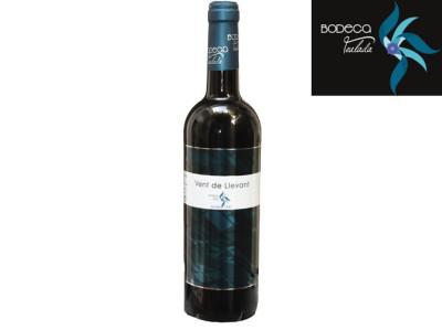 "6 Botellas Vino Tinto Joven Monastrell ""Vent de LLevant""."