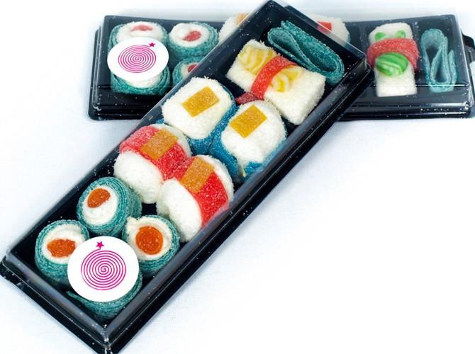 sushi gominolas. Sushi chuches