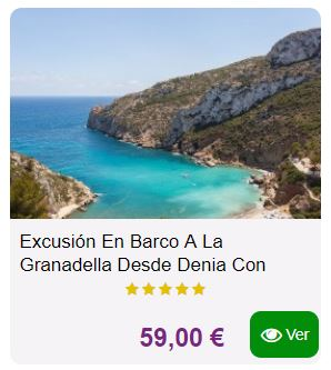 excursion barco granadella javea