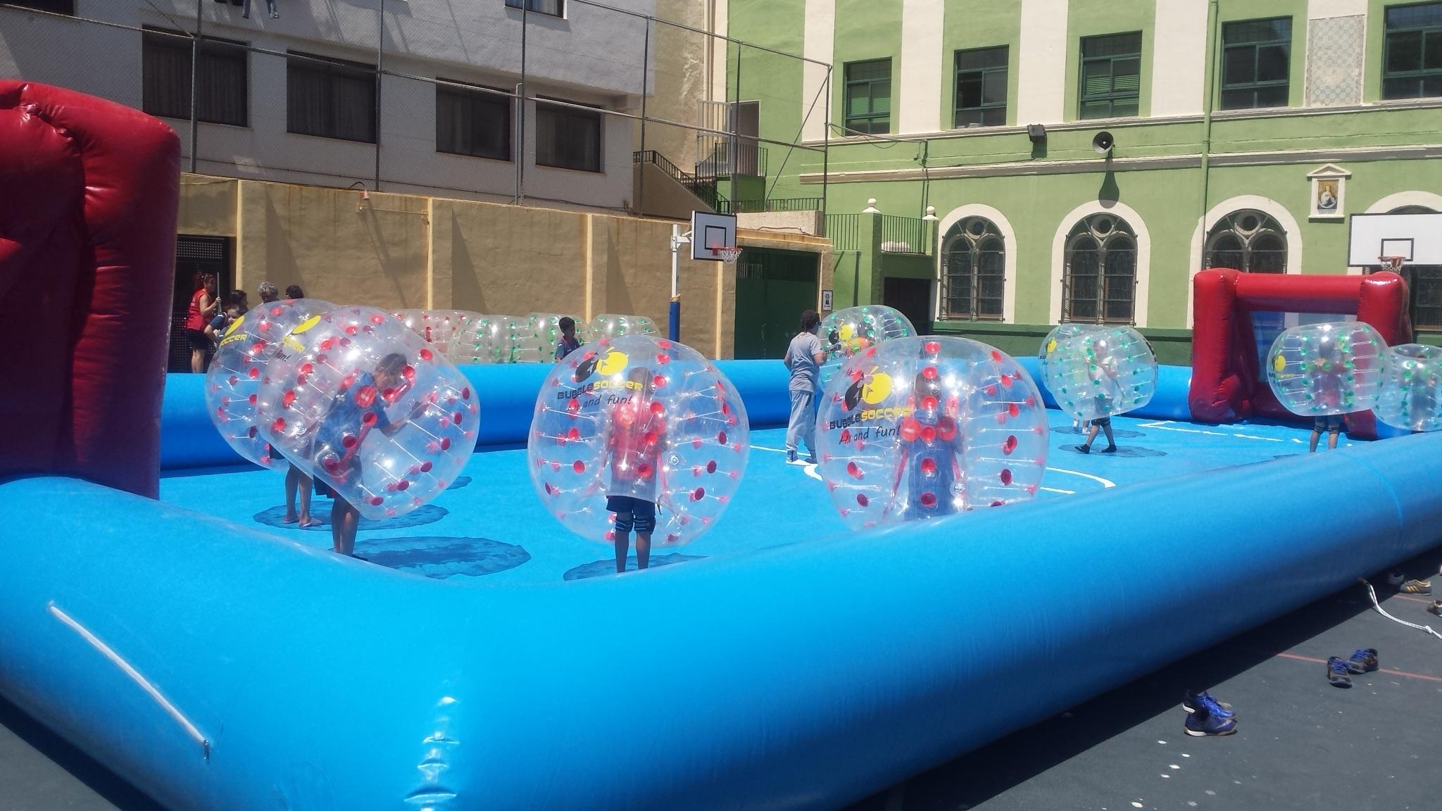 Fútbol Burbuja, Marina Alta y Alicante - Bubblesoccer-foto1