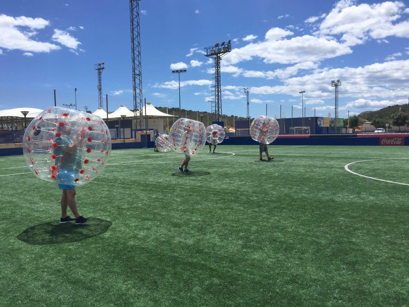 Fútbol Burbuja, Marina Alta y Alicante - Bubblesoccer-foto2