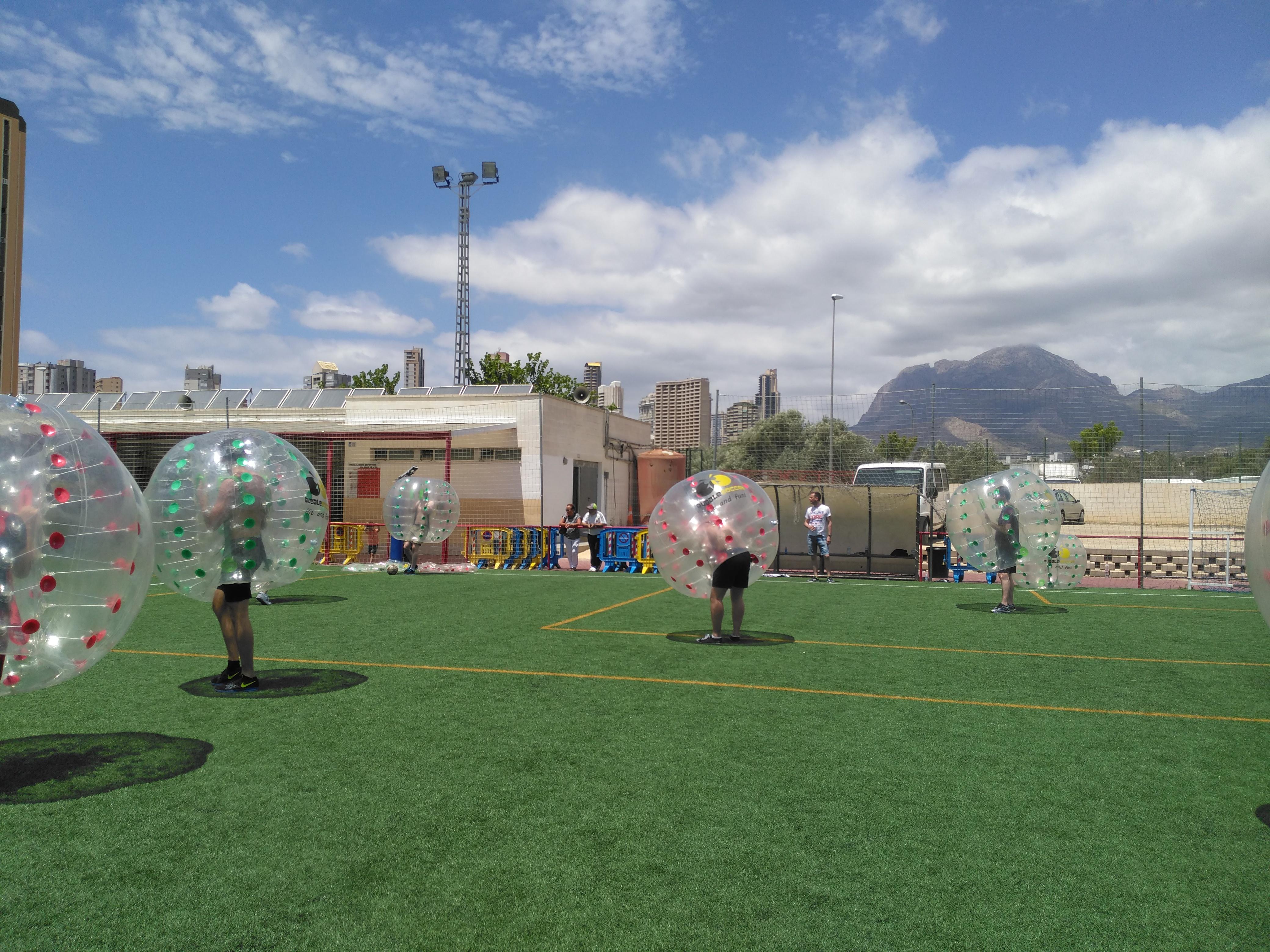 Fútbol Burbuja, Marina Alta y Alicante - Bubblesoccer-foto3